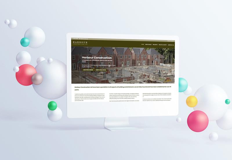 Harbour Construction Website Design Paphos Cyprus
