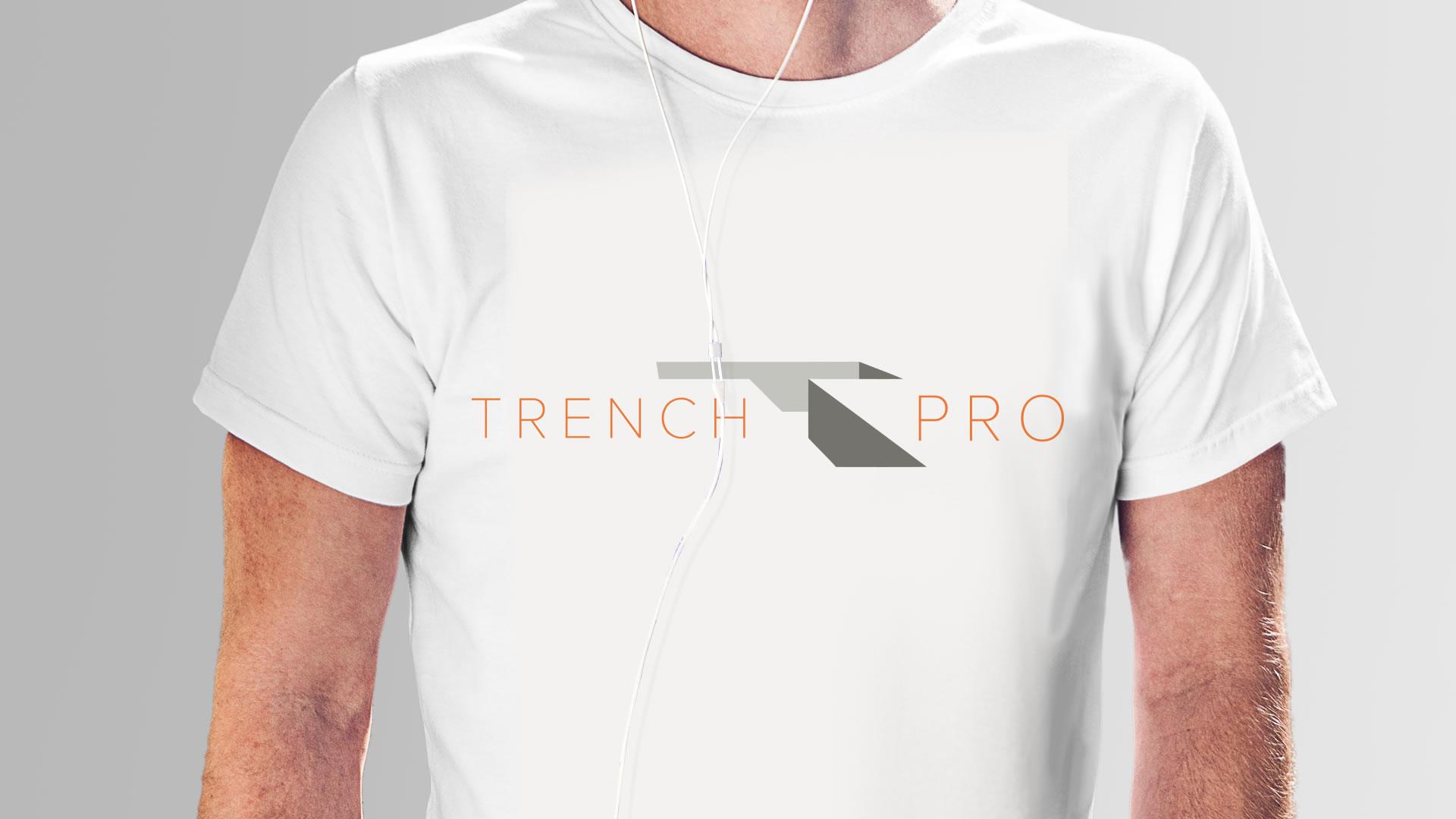 Trench Pro Logo Design Paphos Cyprus