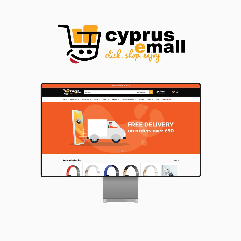 Cyprus E Mall Website Design Paphos Cyprus
